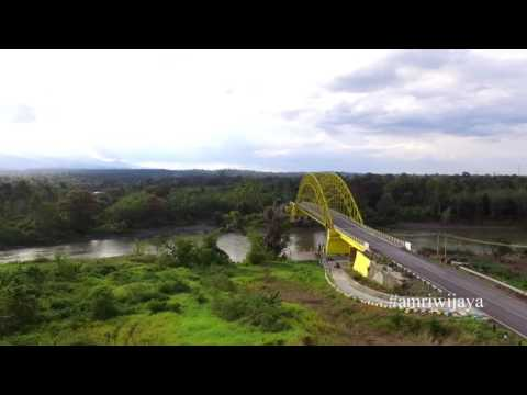 EMPAT LAWANG...Jembatan musi tebing tinggi