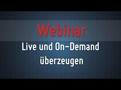 Webinar Agentur PFG GmbH – Live und On-Demand überzeugen
