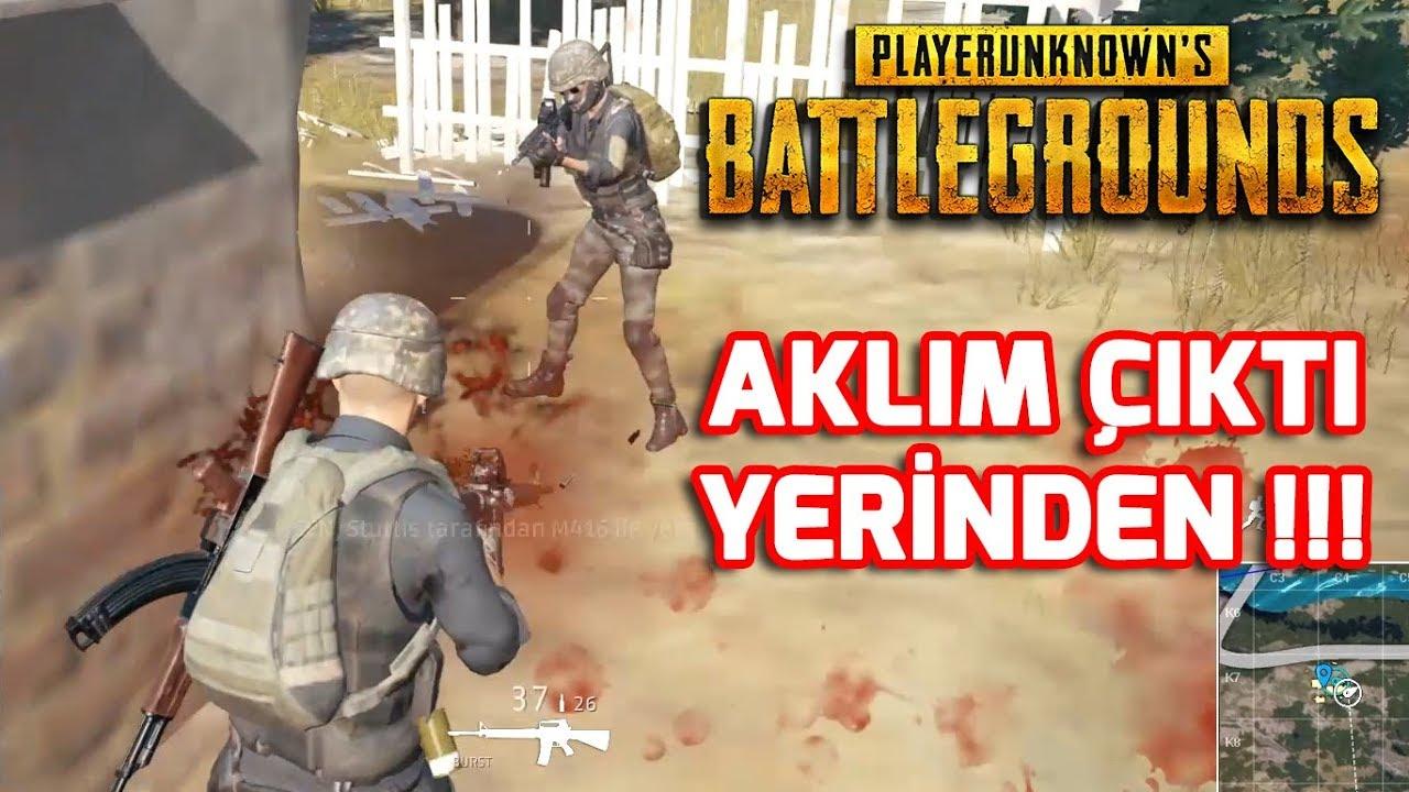 AKLIM ÇIKTI YERİNDEN !!! 🔫🔫 PLAYERUNKNOWN'S BATTLEGROUNDS