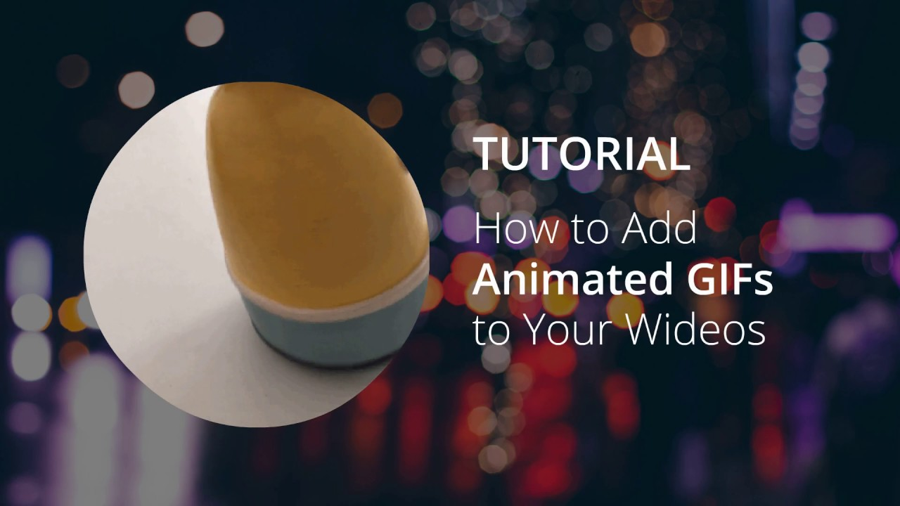 How to upload gif to your Wideos - The Video Marketing Blog