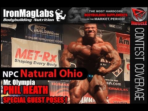 Mr. Olympia Phil Heath Guest Posing At NPC Natural Ohio!