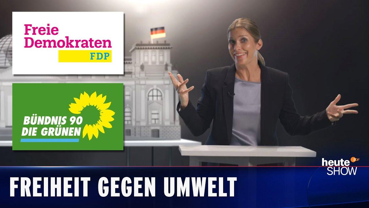 Christian Lindner oder Annalena Baerbock? Die kleine Geschichte von FDP und Grünen | heute-show