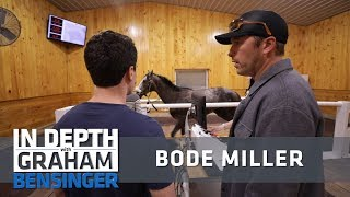 Bode Miller: Horses on treadmills