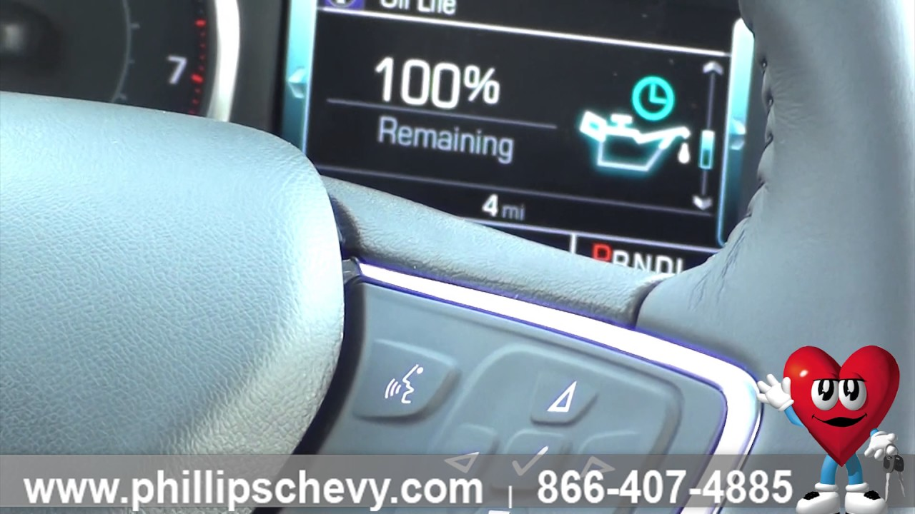 Phillips Chevrolet 2017 Chevy Malibu Reset Oil Life Chicago New Car Dealership