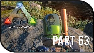 "ARK: Survival Evolved Gameplay Part 63 - ""New v186.0 Update, New Tripwire Traps!"""
