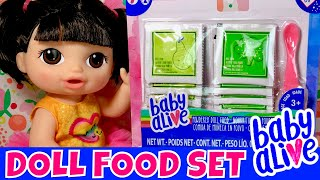 Video 😋New Doll Food Set! 🍐Baby Alive Sweet Spoonfuls Baby Try New Baby Alive Food! 🤗We Have Facebook! download MP3, 3GP, MP4, WEBM, AVI, FLV Juni 2018