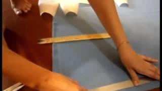 Как сшить юбку за пару дней  Урок2  Часть1