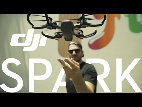 the drone you can fly with your hand (DJI Spark)