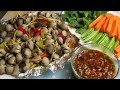 Awesome cooking grilled Shellfish using Aluminum foil // Kimyee Ros Cooking