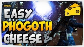 Destiny || BRAND NEW Phogoth cheese on top of the map!