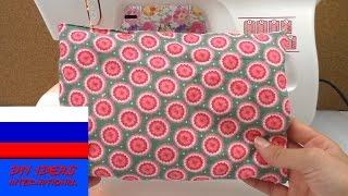 Урок шитья на швейной машинке декоративная подушка