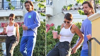 OUCH! Scott Disick Pinches Sofia Richie In Front Of The Paparazzi!