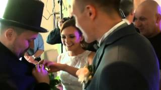 Kominiarz na szczęście- atrakcje weselne