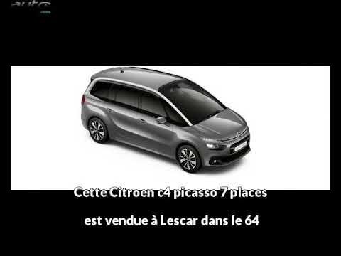 Citroen c4 picasso 7 places occasion visible à Lescar présentée par Pau automobiles