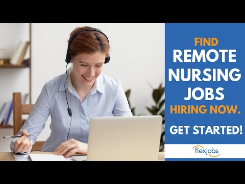 Remote Nursing Jobs From Home – Find Remote Nursing Jobs HIRING NOW!