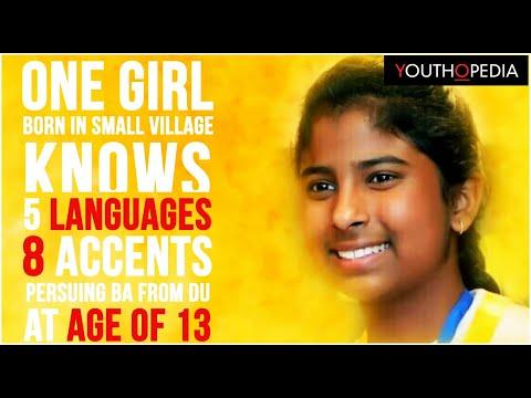 India's Wonder Girl- Janhavi Panwar - YouTube