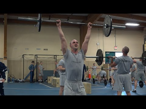 Fight Gone Bad: MSP recruits training for life - YouTube