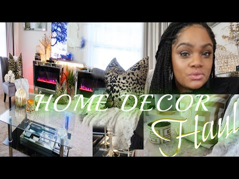 GLAM HOME DECOR HAUL | HOMEGOODS + ROSS