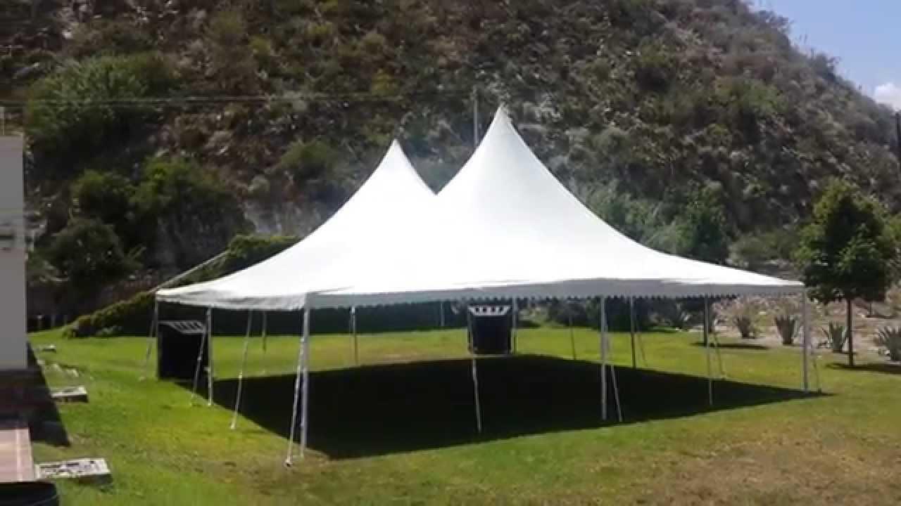 Renta de toldos de 12x12 metros en monterrey fiestas for Carpas para jardin