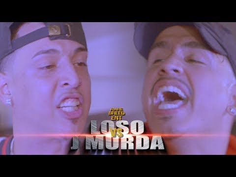 LOSO VS J MURDA RAP BATTLE - RBE