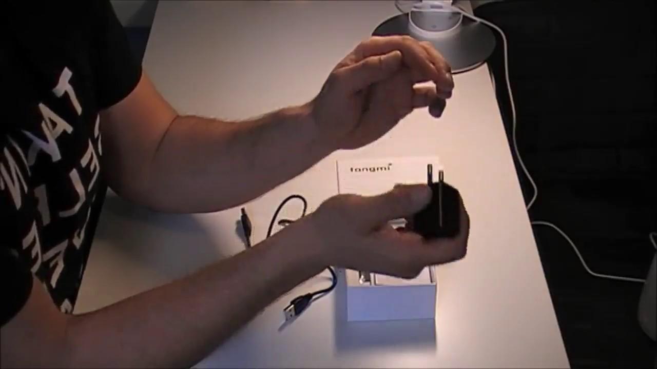 Tangmi 1080P versteckte Spion Kamera, Sieht aus wie ein Ladegerät ...