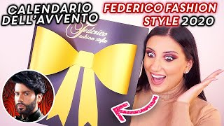 CALENDARIO DELL'AVVENTO FEDERICO FASHION STYLE 2020 🎁