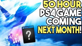 50 Hour PS4 Game Coming Next Month! - Awesome RPG Coming to PS4 in 2019!