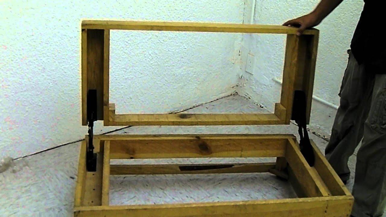 sofa cama individual mexico df cost of leather oimsa mecanismo futon youtube
