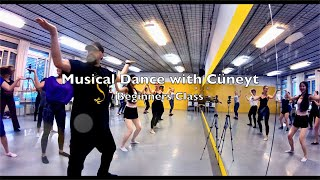 www.cueneyt.com Musical Dance with Cüneyt Beginners