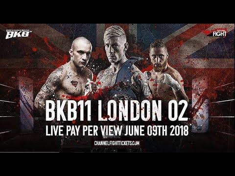 RICARDO FRANCO VS ADAM GROGAN BKB11 BARE KNUCKLE BOXING O2 LONDON