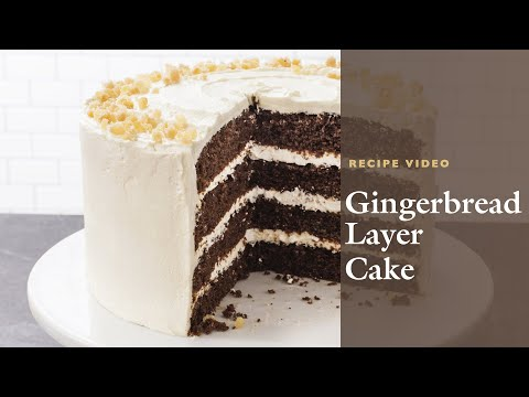 How to Make a Gingerbread Layer Cake with Cook's Illustrated Editor Andrea Geary