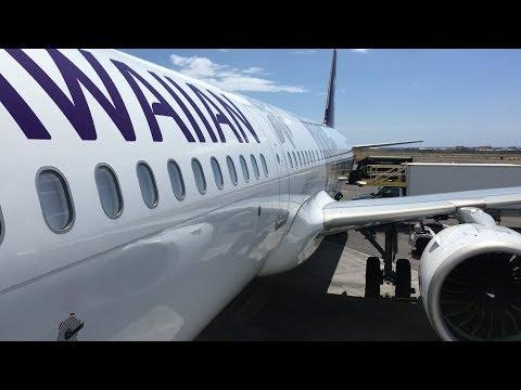 Hawaiian Airlines Flight From Los Angeles To Kona