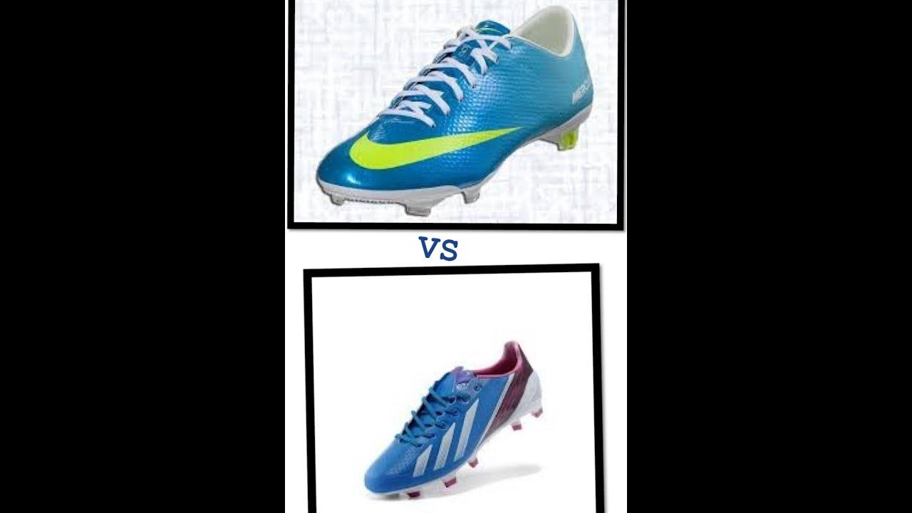 CR7 Nike mercurial Neptune Blue vapor IX VS Messi F50 Adizero  Blue/White/purple
