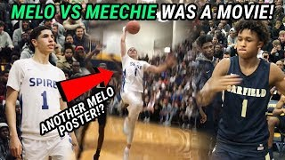 LaMelo Ball Puts Up TRIPLE DOUBLE vs LeBron's Nephew Meechie Johnson! Is Spire The BEST!?