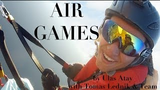 Amazing Air Games - Professional Paragliding by Ulas Atay