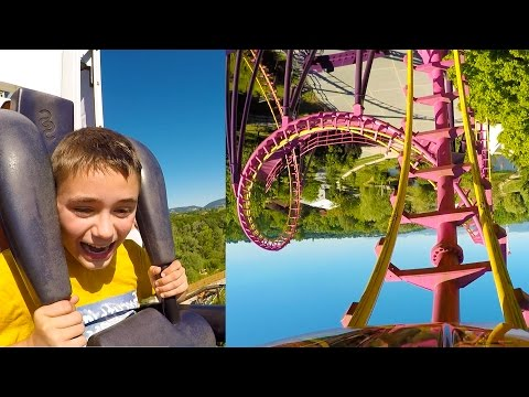 VLOG - Sensations Fortes Pour Néo à WALIBI - Attractions EqWalizer & Skunx Tower - 1/2