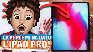 La Apple mi ha dato un iPAD PRO 2018 e la APPLE PENCIL 2! - Prime impressioni RichardHTT