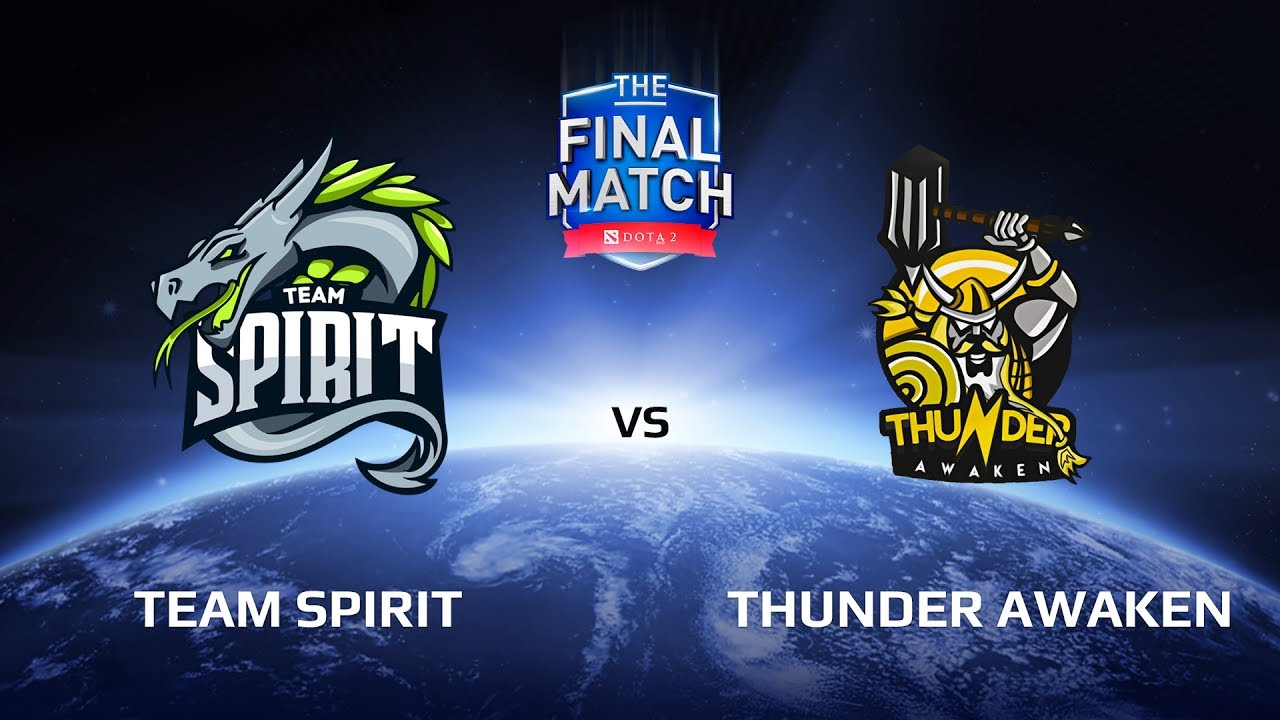 Team Spirit vs Thunder Awaken, The Final Match LAN-Final, Play-Off