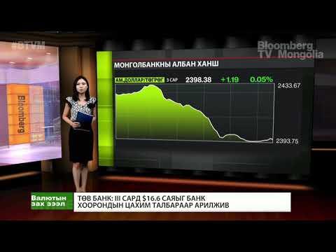 Төв банк: III сард 16.6 сая ам.долларыг банк хоорондын цахим талбараар арилжив