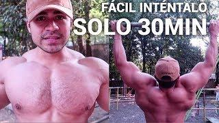 Rutina de ESPALDA y PECHO con tu Peso Corporal I Ismael Martinez