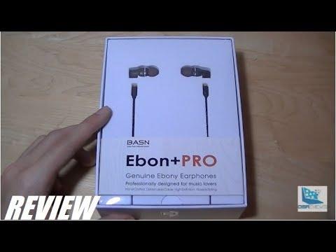 REVIEW: Basn Ebon+ Pro HiFi Wood Earphones (IEM)