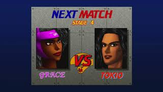 Fighting Vipers: Arcade Mode Grace 2