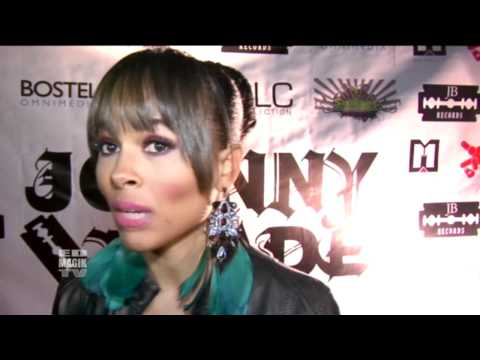 Mercedes Nelson Interview at Johnny Blade Celebrity  Launch Party Video