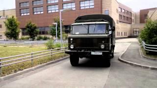 Тесты электрического ГАЗ-66, часть 2.
