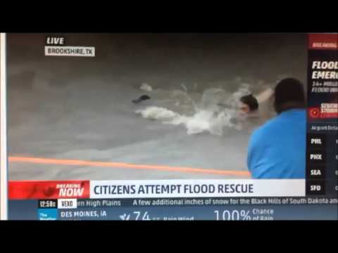 Houston flooding/citizens rescue