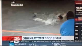 Houston flooding/citizens rescue