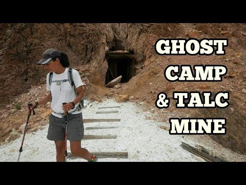 Exploring The Ibex Spring Ghost Camp Of Death Valley And Inside The Talc Mine Tunnels