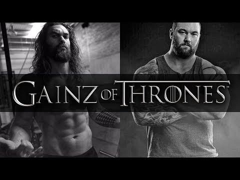 Game of Thrones buffest actors  Gainz of Thrones  Top Lists