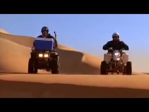 How to ride across sand dunes - Hairy Bikers' Cookbook  - BBC
