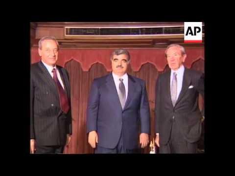 Lebanon - Christopher Holds Talks